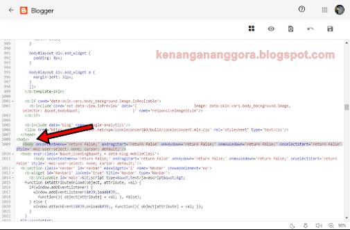 Cara Mencegah Copas Di Blogspot