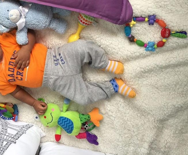 Tonto Dikeh blasted for posting headless photo of her baby
