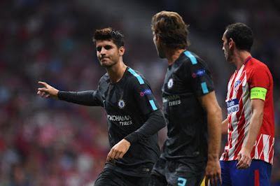 Morata rates team-mate as World best standard