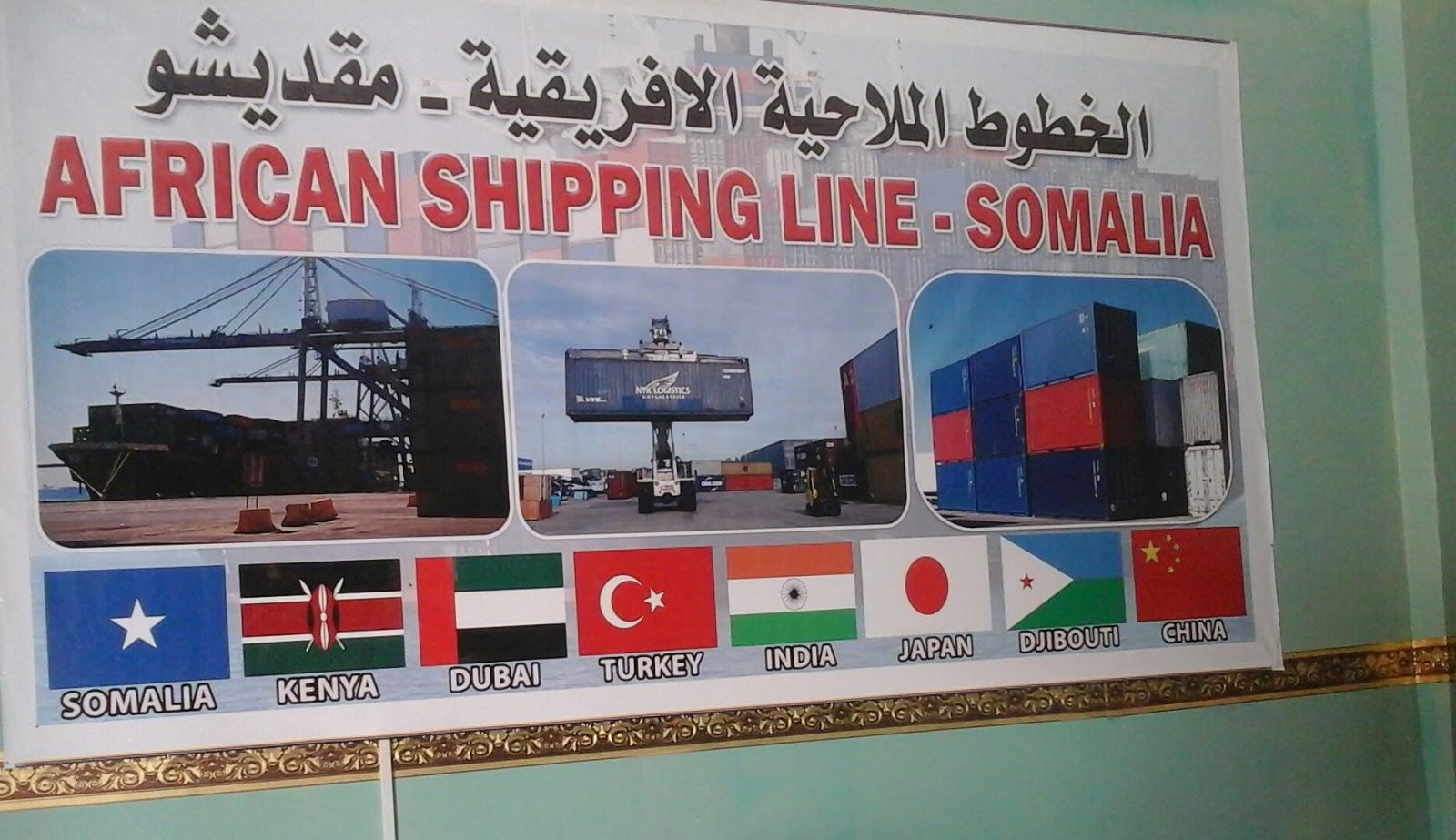 AFRICAN SHIPPING LINE - ASLINE: AFRICA, CHINA, DUBAI, TURKEY