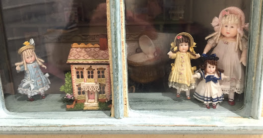 Gamages Doll Shop.....All Things Tiny and Dolly.