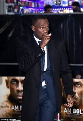 Fabregas, Sterling, Giroud, Bellerin, and others attend the premiere of Usain Bolt's film 'I Am Bolt' (Photos)