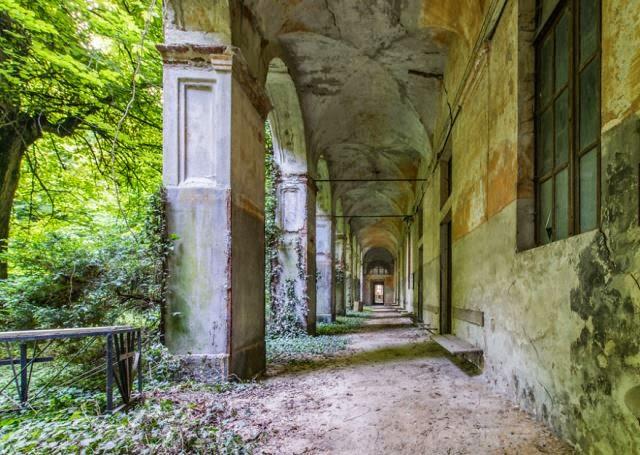 lugares abandonados en Europa.