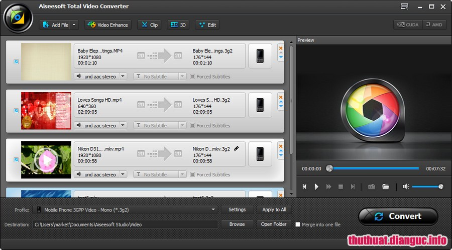 Download Aiseesoft Total Video Converter 9.2.28 Full Cr@ck