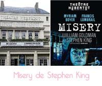 Misery : l'oeuvre de Stephen King au théâtre Hébertot