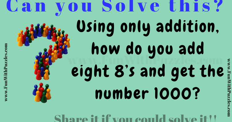 Maths Riddle And Answer For Teenagers