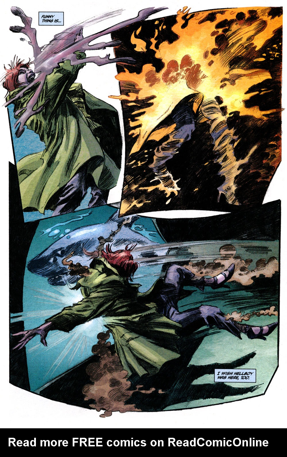 Read online Hellboy: Weird Tales comic -  Issue #6 - 15