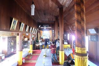 interior rumah gadang istano rajo balun