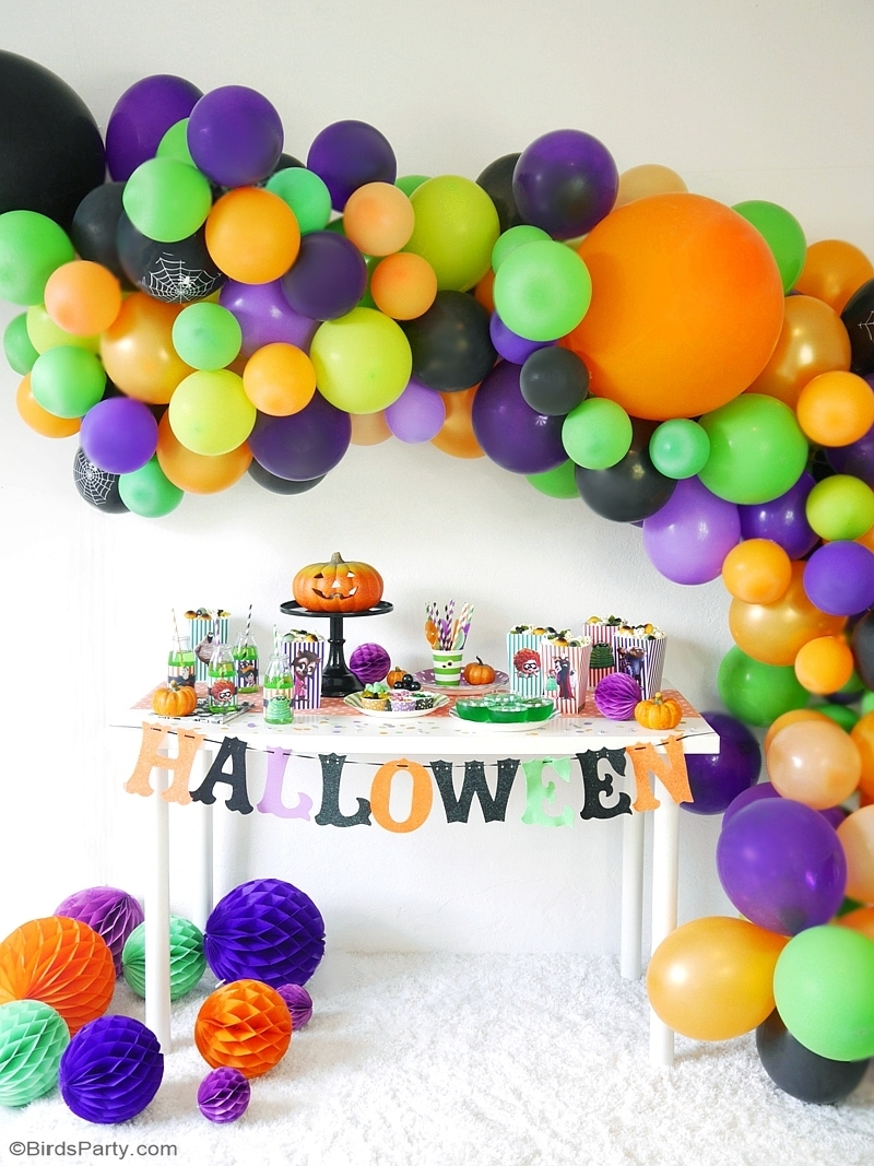 Halloween Theme Party Ideas.A Hotel Transylvania Halloween Movie Party With Free Printables