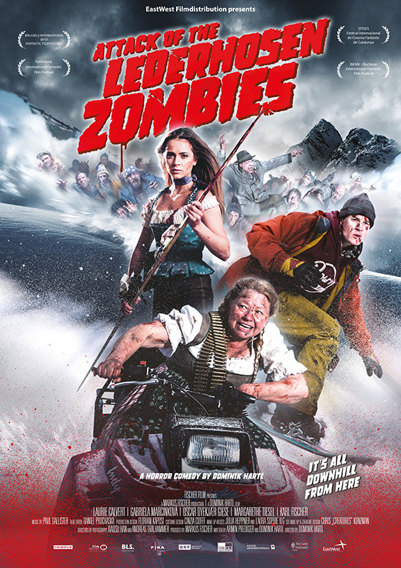 Movie Attack of the Lederhosen Zombies (2016)