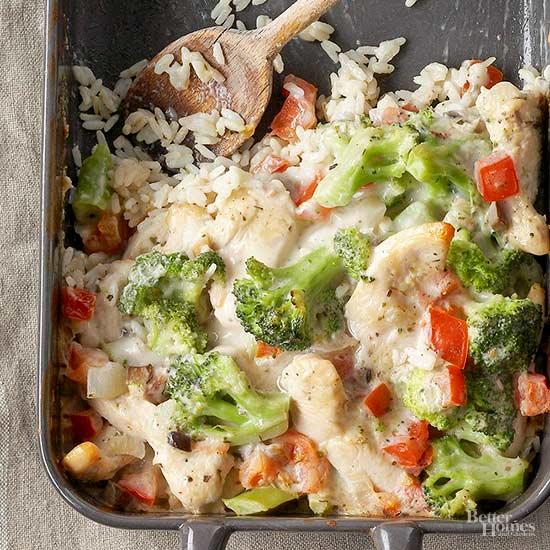 Parmesan Chicken and Broccoli