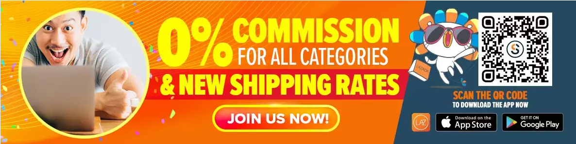 0% commission for Lazada MY sellers