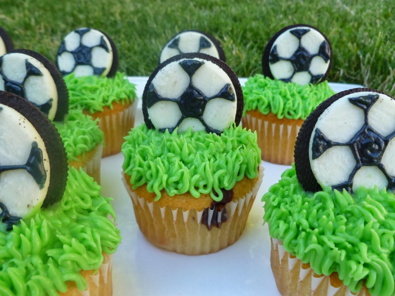 Soccer Ball Cookie Cake
