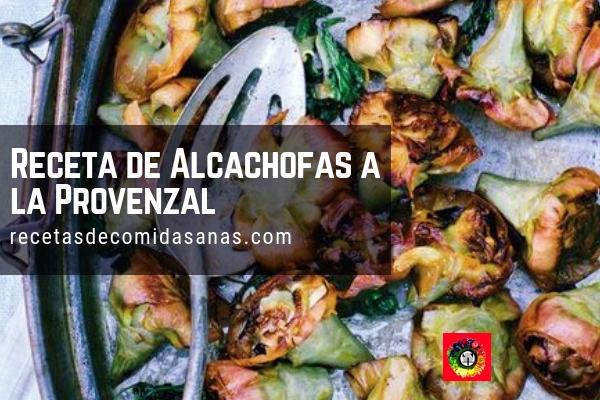 Receta de Alcachofas a la Provenzal.