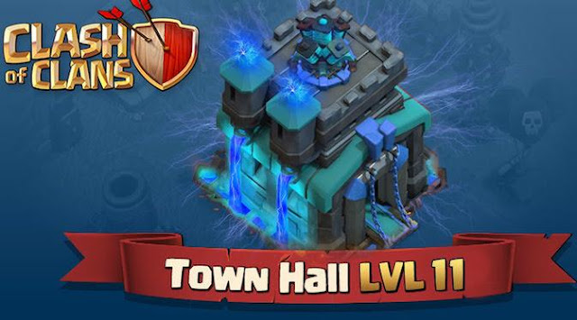 Clash of Clans Resmi Update Town Hall Level 11