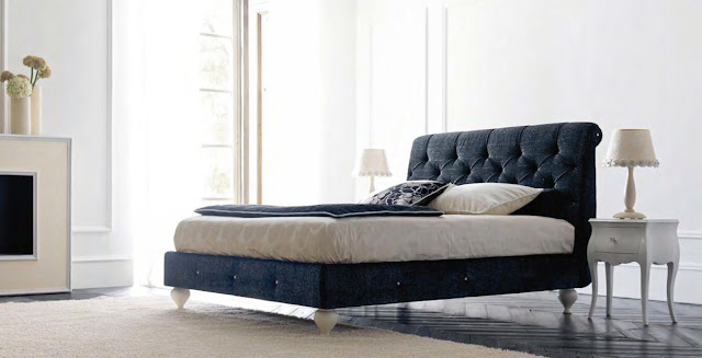 Mobila dormitor italiana - Mobila clasica / Paturi tapitate dormitoare de lux | mobilier italia - Mobila - italiana - pat - dormitor -Bell'Antonio-articol-5700