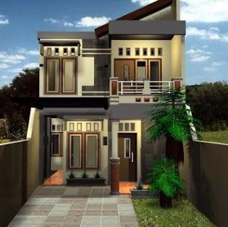 Rumah Minimalis Lantai 2 Sederhana Model Baru
