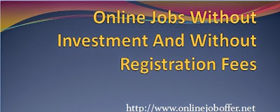 Online Form Filling Jobs Without Any Investment & Registration Fees