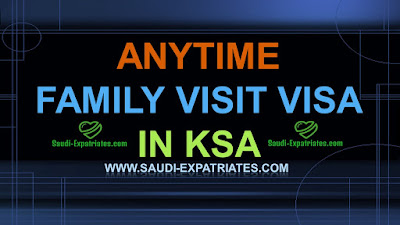 ANYTIME VISIT VISA IN KSA