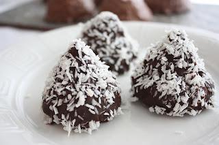 Kokosboller , Lizas matverden, Flødeboller