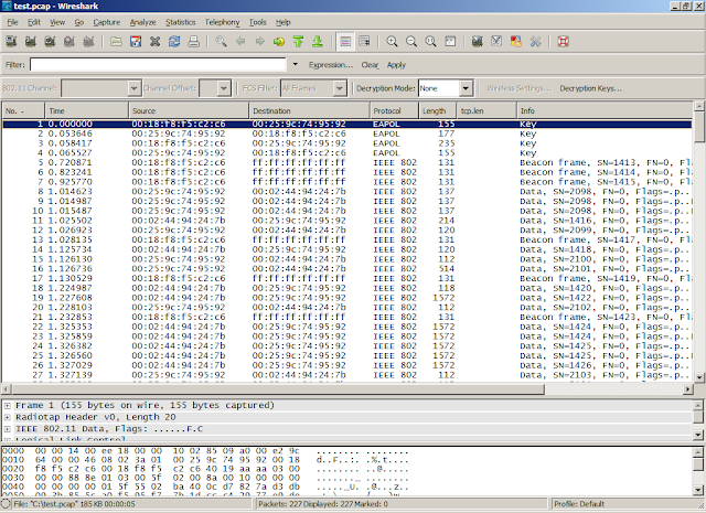 Wireshark and TShark: Decrypt Sample Capture File