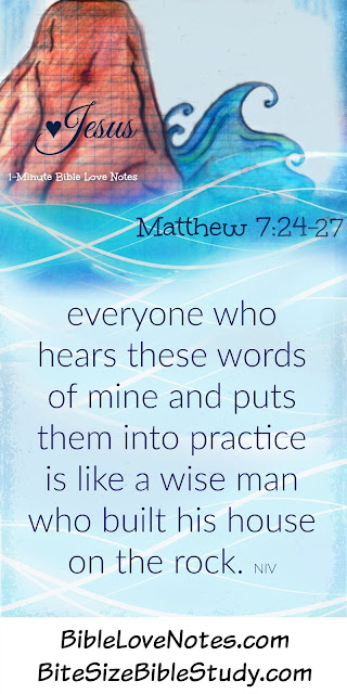 Matthew 7:13-27, fake Christians, Building on the Rock of Jesus