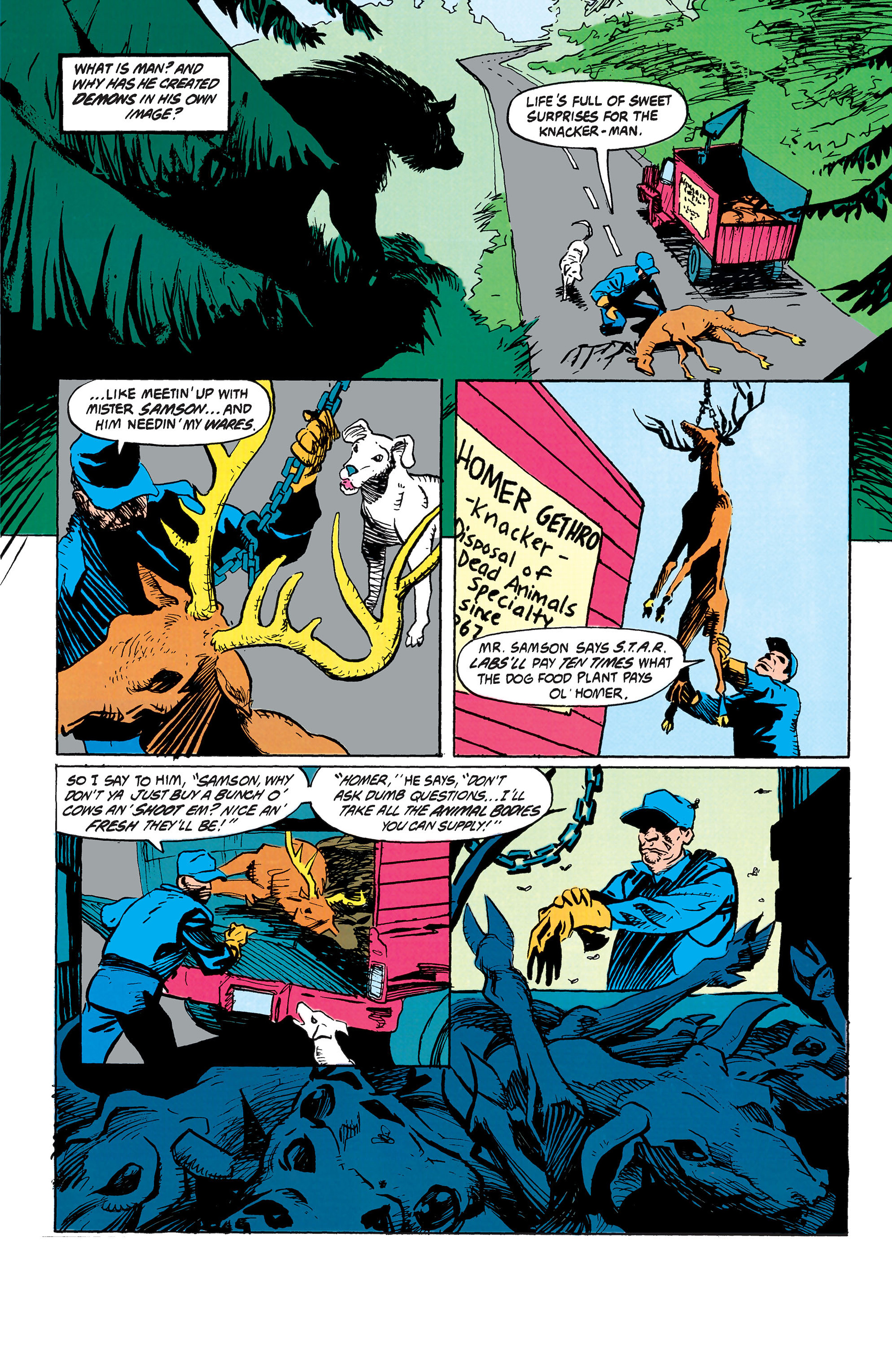 Read online Animal Man (1988) comic -  Issue #42 - 2