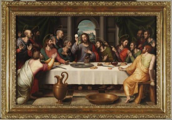 El error de la Última Cena y las naranjas -- Juan de Juanes