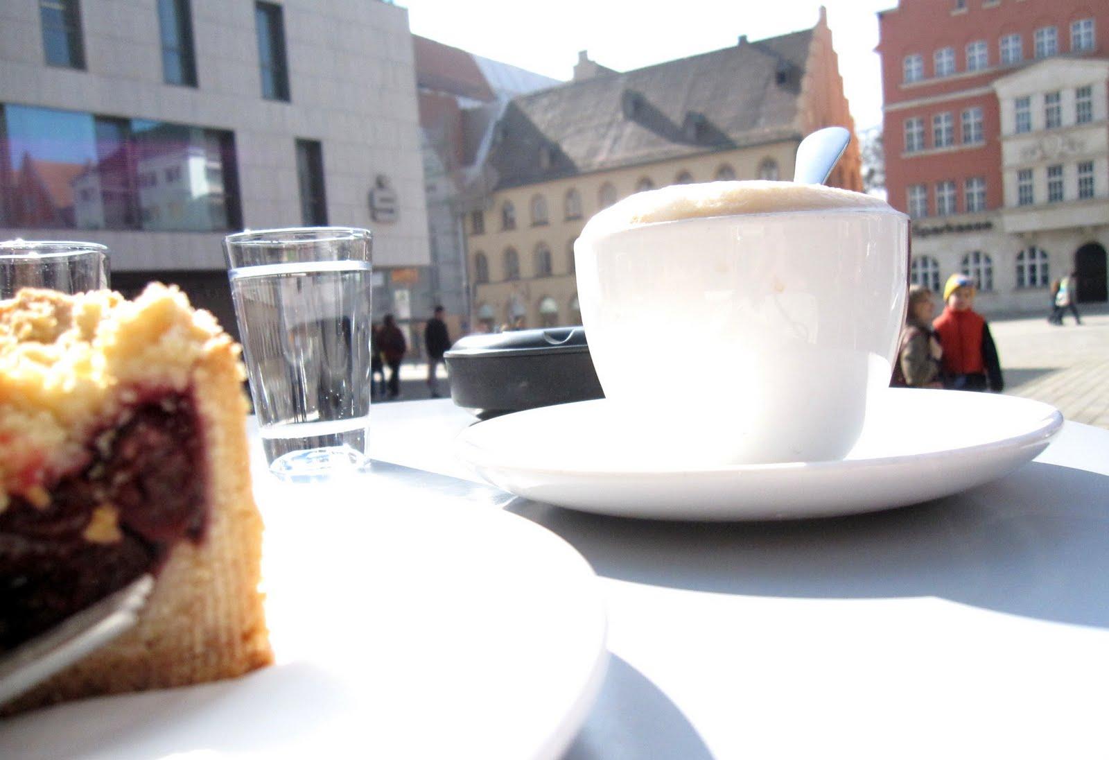 Caf und kuchen moritz caf am rathausplatz ingolstadt for Mobelhof ingolstadt kuchen