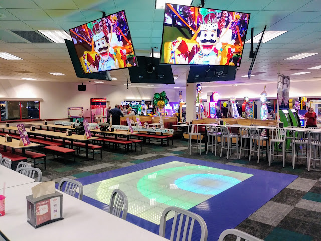 Dance! @ChuckECheese in North Olmsted has a fresh, new look after remodel.