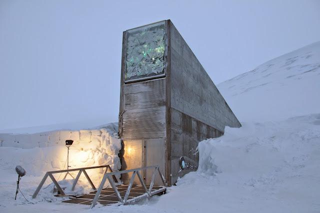 Image result for Μια σύγχρονη Κιβωτός του Νώε «λειτουργεί» στη Νορβηγία