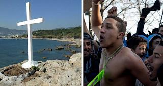 «Αφαιρέστε τους σταυρούς από τη Μυτιλήνη, ενοχλούν τους μετανάστες»