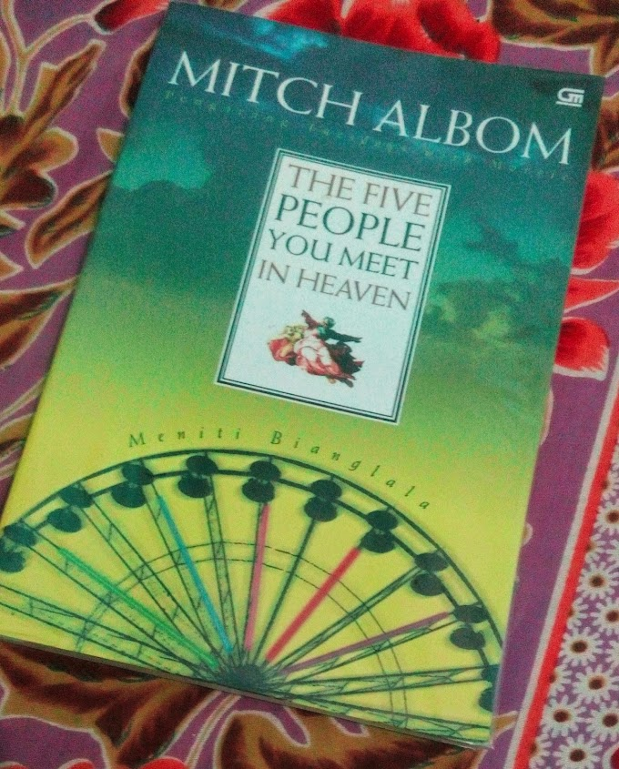[BOOK REVIEW] The Five People You Meet In Heaven by Mitch Albom