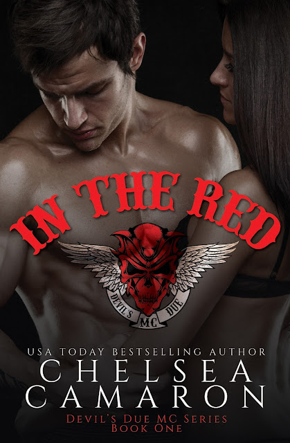 Cover Reveal - In the Red by Chelsea Camaron