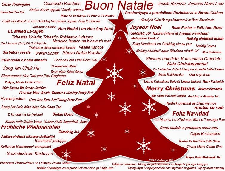 Testo Canzone Auguri Di Buon Natale.Guamodi Scuola Gli Auguri Di Natale In Tutte Le Lingue Del