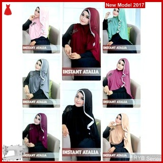 RYB091B Kerudung Jilbab Cantik Instant Murah Atalia BMG Online Shop