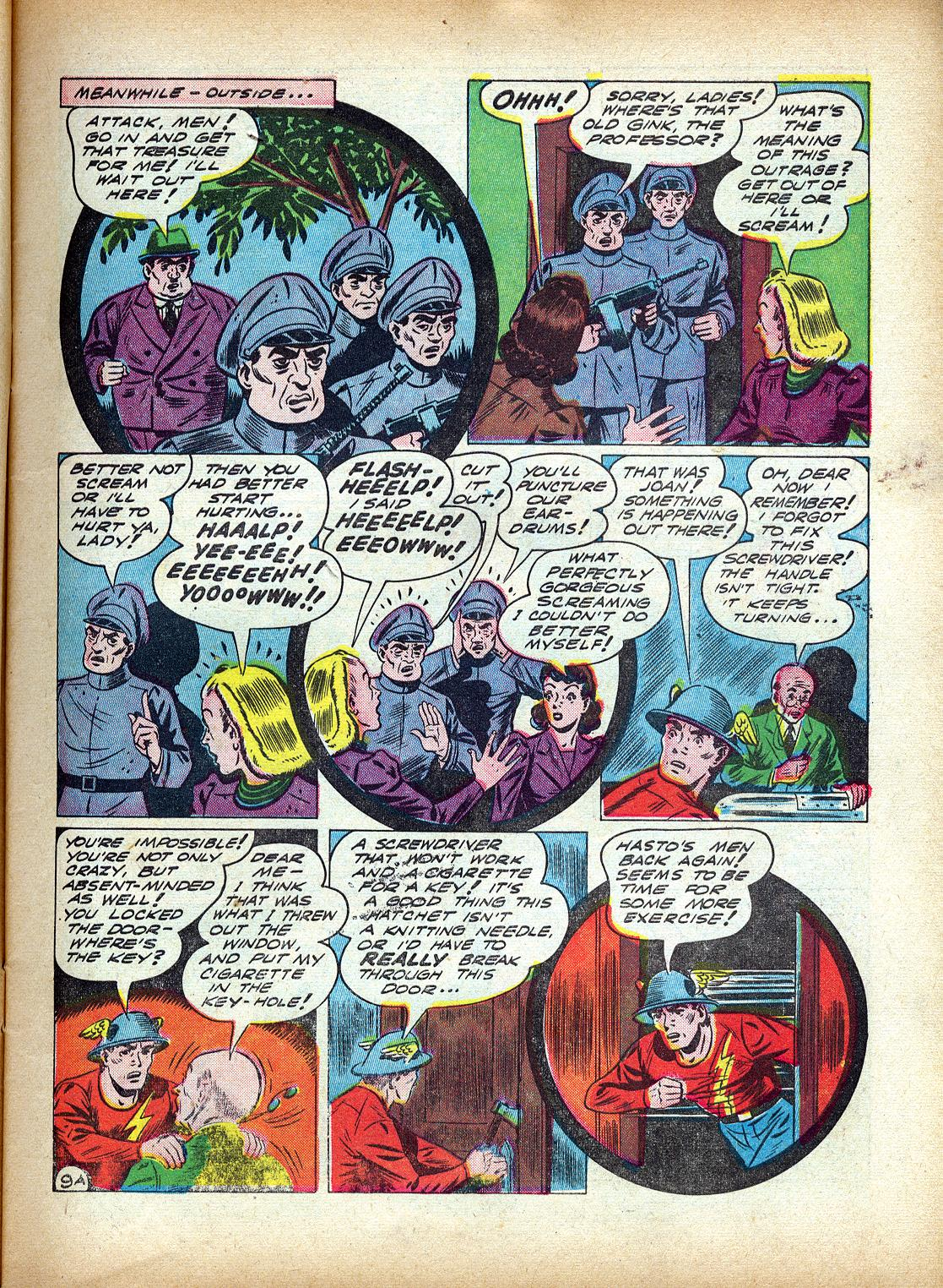 Read online All-Flash comic -  Issue #4 - 12
