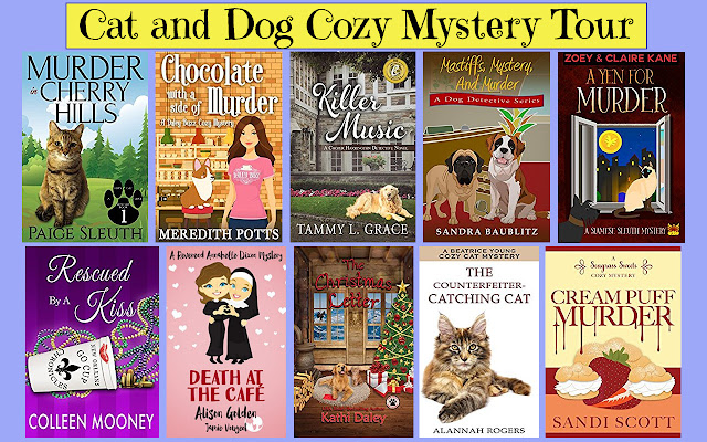 Cat and Dog Cozy Mystery Tour (plus GIVEAWAY)