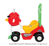 Ride-on Car SHP CB610 Captain Bird Red