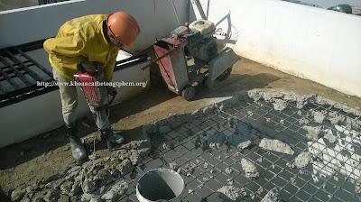 Khoan cắt bê tông tại Vĩnh Long 2