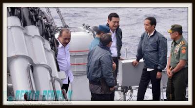 Jokowi, Presiden, Kejadian, tak disangka, asing nyerobot Natuna, Berita Bebas, Ulasan Berita, TNI,