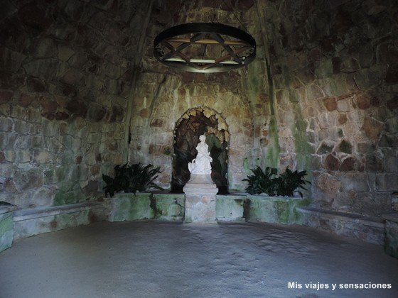 La gruta de Leda, Quinta da Regaleira, Sintra