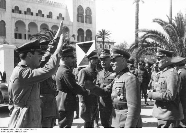 12 February 1941 worldwartwo.filminspector.com Rommel Tripoli North Africa