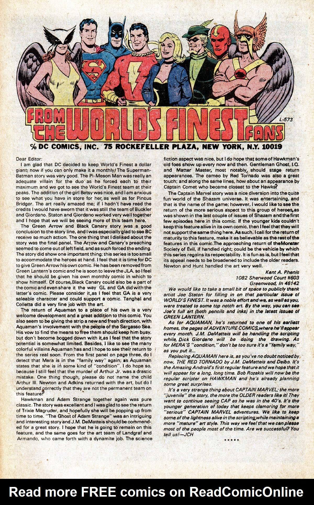 Read online World's Finest Comics comic -  Issue #265 - 67