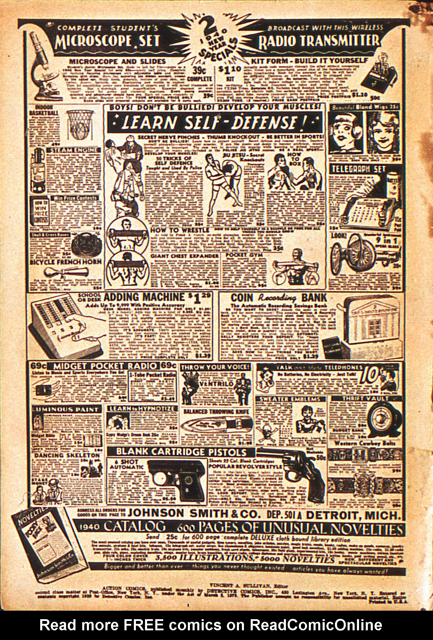 Action Comics (1938) 20 Page 2