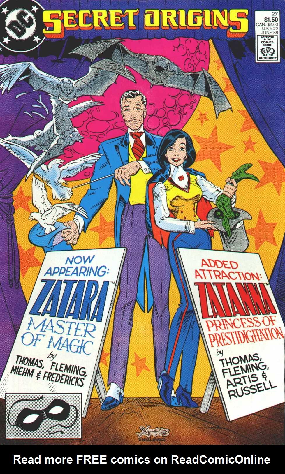 Secret Origins (1986) issue 27 - Page 1