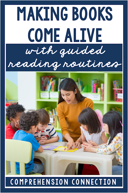 Organizing your students in order for guided reading groups to flow smoothly takes a little effort. Check out this post for a few tips and resources to help you get started.