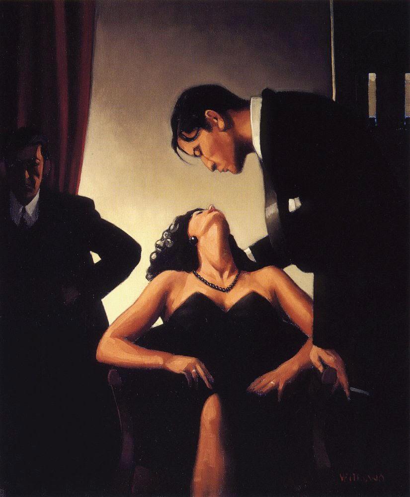 Jogo de Poder - Jack Vettriano e suas pinturas cheias de encontros íntimos