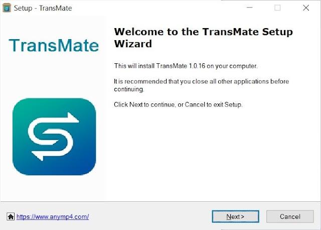 AnyMP4 TransMate Full imagenes