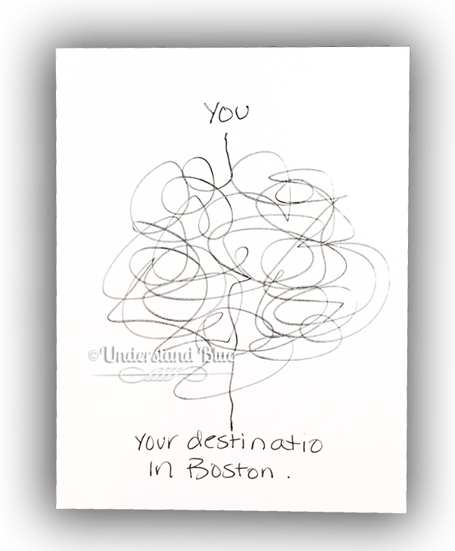 Boston traffic by Understand Blue
